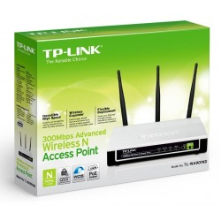 TP-Link TL-WA901ND Wireless Access Point ราคาประหยัด ความถี่ 2.4GHz ความเร็ว 300Mbps รองรับ Repeater พร้อม POE ในชุดอุปกรณ์ T...