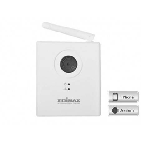 กล้อง IP Camera Edimax IC-3115w ความละเอียด 1.3  MPixel ราคาประหยัด รองรับ Wireless 150Mbps สามารถดูผ่าน IPhone/Android