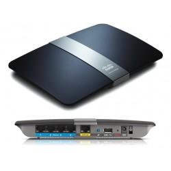 Linksys EA4500 Wireless Broadband Router แบบ Dual Band 2.4 และ 5GHz ความเร็ว 450 Mbps พร้อม HotSpot 10 Users