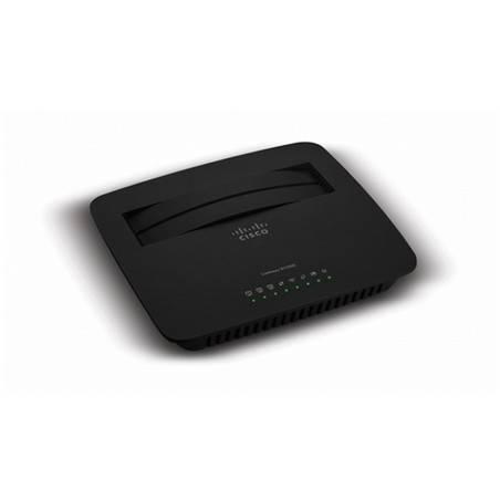 Linksys X1000 ADSL2+ Wireless Modem Router ราคาประหยัด ความถี่ 2.4Ghz ความเร็ว 300Mbps พร้อม 3 Port Lan