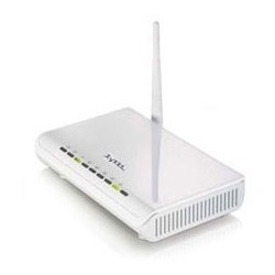 ZyXel Home ZyXEL P-660HW-T1-W Wireless ADSL Modem Router, 54Mbps
