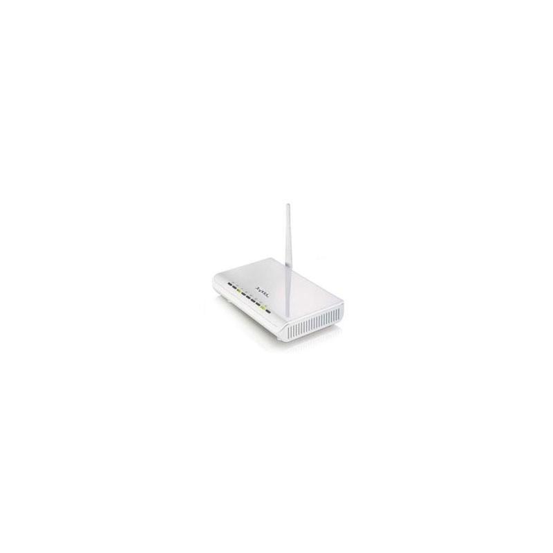 ZyXel ZyXEL P-660HW-T1-W Wireless ADSL Modem Router, 54Mbps