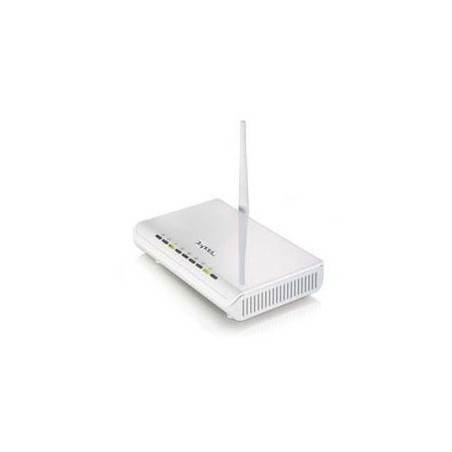 ZyXEL P-660HW-T1-W Wireless ADSL Modem Router, 54Mbps