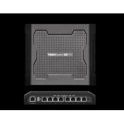 Ubiquiti Ubiquiti TOUGHSwitch PoE PRO Switch ขนาด 8 Port Gigabit จ่ายไฟผ่านสาย Lan ได้ 24/48 VDC 18W ต่อ Port