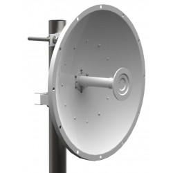 ARC eXsite Dual-Pole Dish 34dBi เสาอากาศภายนอกอาคารประเภททิศทาง ระยะไกล ความถี่ 5GHz Gain ขยาย 34dBi