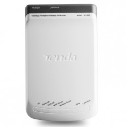 Tenda Tenda W150M Wireless AP/Repeater ความเร็ว 150Mbps รองรับ Repeater เพื่อเชื่อมต่อ Internet TV ไม่ต้องลากสาย Lan