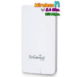 Engenius ENS200 Accees Point แบบภายนอกอาคาร ความถี่ 2.4GHz ความเร็วสูงสุด 150 Mbps กำลังส่งสูงสุด 400mW