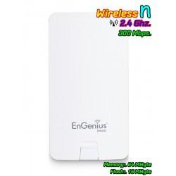 Engenius ENS202 Accees Point แบบภายนอกอาคาร ความถี่ 2.4GHz ความเร็วสูงสุด 300Mbps กำลังส่ง 400mW รองรับ Users ได้มาก