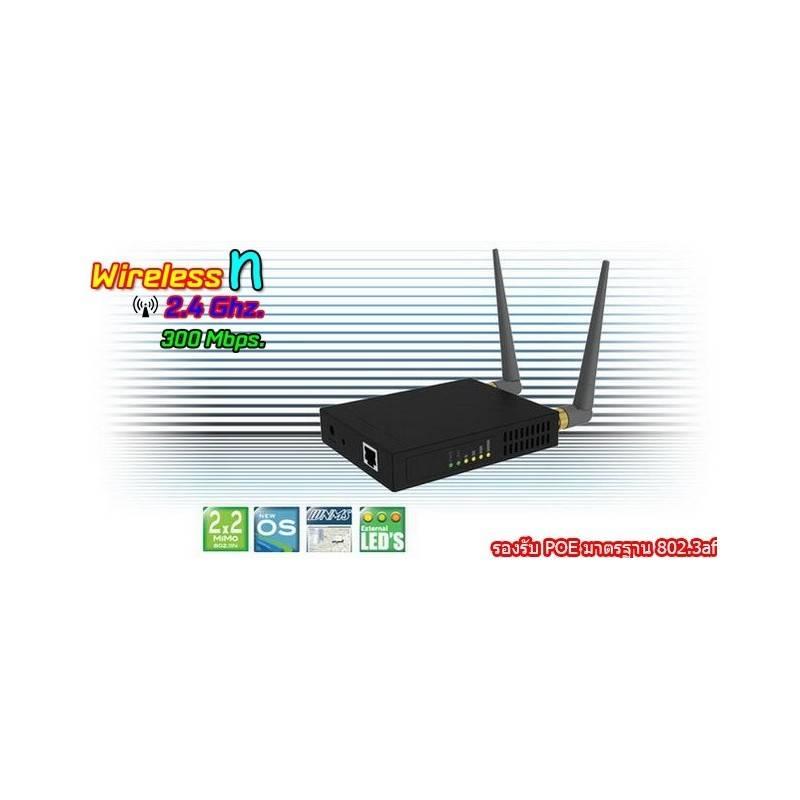 Deliberant APC 2Mi-af อุปกรณ์ AccessPoint กำลังส่งสูงสุด 1000mW ความเร็ว 300Mbps ความถี่ 2.4GHz รองรับ POE มาตรฐาน 802.3af