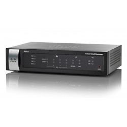 Cisco RV320 Gigabit Dual WAN VPN Router รวม Internet 2 คู่สาย VPN 25 Tunnels, รองรับ 3G Modem พร้อม 4 Port Gigabit