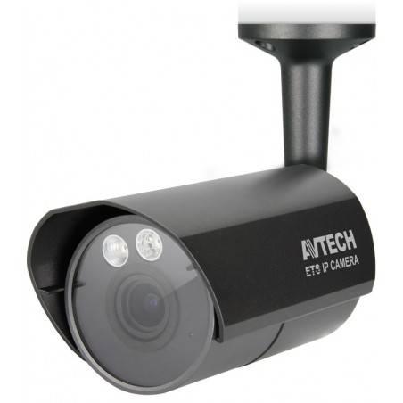 AVTECH AVM359 กล้อง IP Camera แบบใช้สาย ติดตั้งภายนอกอาคาร ความละเอียด 1.3MPixels รองรับ POE 802.3af พร้อม IR LED ระยะ 25 เมตร