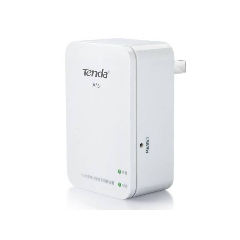 Tenda Wireless AccessPoint (กระจายสัญญาณ Wireless) Tenda A5s Wireless Repeater ความเร็ว 150Mbps รองรับ Mode Wifi/Repeat เพื่อ...