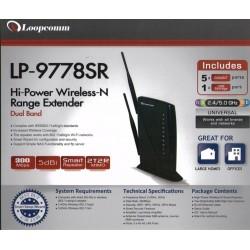 LoopComm LP-9778SR Wireless Broadband Router 2 ย่านความถี่ 2.4/5Ghz 300Mbps 600mW Wireless Broadband Router/ Modem