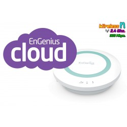 Engenius ESR300 Wireless Broadband Router ย่านความถี่ 2.4GHz ความเร็วสูง 300Mbps รองรับ Multimedia Sharing ราคาประหยัด