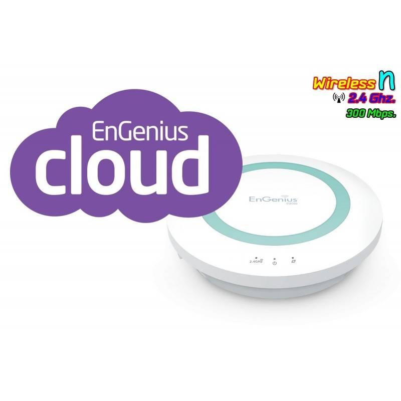 EnGenius Engenius (เอ็นจีเนียส) Engenius ESR300 Wireless Broadband Router ย่านความถี่ 2.4GHz ความเร็วสูง 300Mbps รองรับ Multi...
