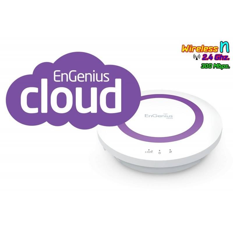 EnGenius Engenius ESR350 Wireless Broadband Router ย่านความถี่ 2.4GHz ความเร็วสูง 300Mbps รองรับ Multimedia Sharing ราคาประหยัด