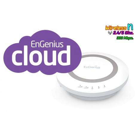 Engenius ESR600 Wireless Broadband Router ย่านความถี่ 2.4/5GHz ความเร็วสูง 300Mbps รองรับ Multimedia Sharing ราคาประหยัด