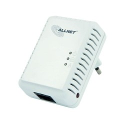 AllNet ALL168250 อุปกรณ์ Powerline Adapter เชื่อมเครือข่าย Network ผ่านสายไฟฟ้าในบ้าน ความเร็วสูงสุด 500Mbps ระยะไกลสุด 200 เ...