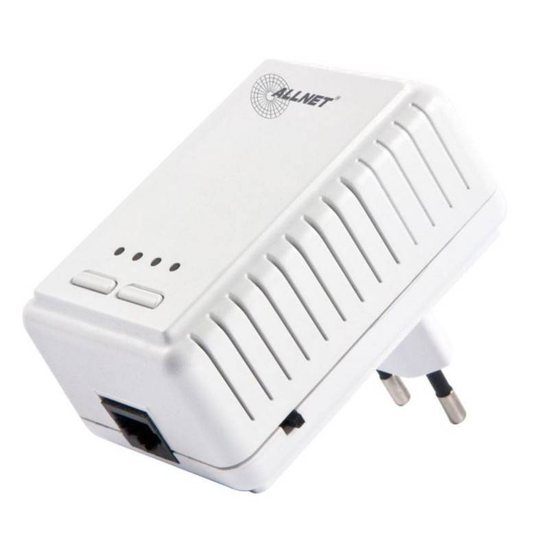 ALLNET PowerLine Adapter AllNet ALL1682511 อุปกรณ์ Powerline Adapter พร้อม Wireless เชื่อมเครือข่าย Network ผ่านสายไฟฟ้าในบ้า...