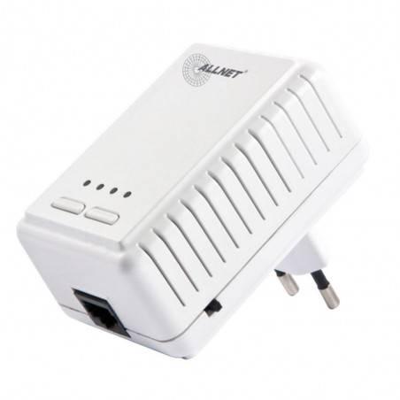 AllNet ALL1682511 อุปกรณ์ Powerline Adapter พร้อม Wireless เชื่อมเครือข่าย Network ผ่านสายไฟฟ้าในบ้าน ความเร็วสูงสุด 500Mbps