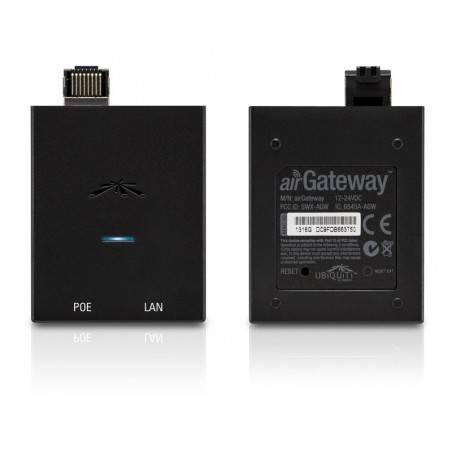 Ubiquiti airGateway เชื่อมต่อกับ CPE เพื่อกระจายสัญญาณ Wireless 2.4GHz 150Mbps