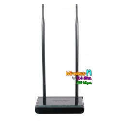 Tenda Wireless AccessPoint (กระจายสัญญาณ Wireless) Tenda W309R+ Wireless Broadband Router 300Mbps 2.4GHz เสา 9dBi X 2 รองรับ ...
