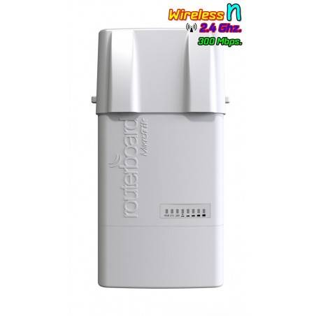 Mikrotik BaseBox2 RB912UAG-2HPnD-OUT AP แบบ Outdoor 2.4GHz Dual-Chain 300Mbps หัวต่อแบบ SMA X 2