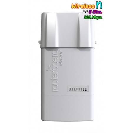 Mikrotik BaseBox5 RB912UAG-5HPnD-OUT AP แบบ Outdoor 5GHz Dual-Chain 300Mbps หัวต่อแบบ SMA