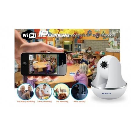 Plenty IP-J05-WS กล้อง IP Camera แบบ Wireless รองรับ Pan/Tilt 120/320 องศา พร้อม IR ดูในเวลากลางคืน ราคาประหยัด