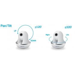 Plenty Computer Plenty IP-J05-WS กล้อง IP Camera แบบ Wireless รองรับ Pan/Tilt 120/320 องศา พร้อม IR ดูในเวลากลางคืน ราคาประหยัด