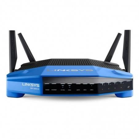 Linksys WRT1900AC Wifi Router แบบ Dual Band 2.4GHz/5GHz มาตรฐาน ac ความเร็วสูงสุด 1300Mbps