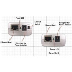 D-Link D-Link DWL-P200 - POE 5VCD/2.5A or 12VCD/1A