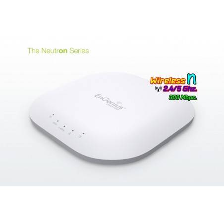 EnGenius EWS310AP Neutron Series Access Point แบบ Dualband 2.4/5GHz ความเร็ว 300 Mbps