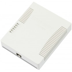 Mikrotik RB260GS Smart Switch 5 Port Gigabit รองรับทำ VLANs, Mirror Traffic และ Bandwidth Limit Switches เชื่อมเครือข่ายแบบสาย