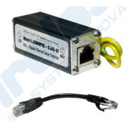 LA1000POE Gigabit Surge/Lightning Protector อุปกรณ์ปกป้องระบบเครือข่ายที่เกิดจาก ESD/ฟ้าผ่า ผ่านสาย Lan