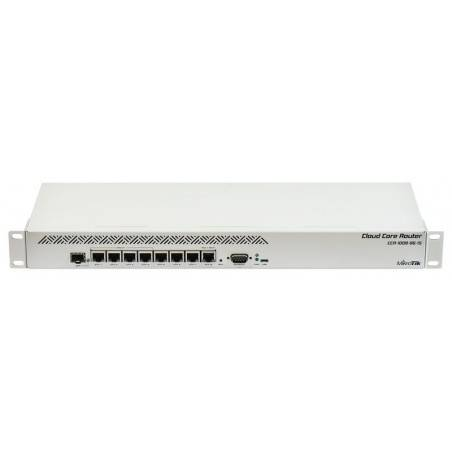 Mikrotik CCR1009-8G-1S Cloud Core Router CPU 9-Core 1.2GHz Ram 1GB, 8 Port Giagbit 1 Port SFP ROS LV 6