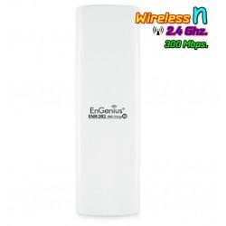 EnGenius Engenius (เอ็นจีเนียส) Engenius ENH202 Wireless Access Point แบบภายนอกอาคาร ย่านความถี่ 2.4GHz ความเร็ว 300Mbps