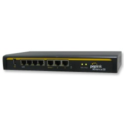 Peplink Peplink (เป๊ปลิ้งค์) Peplink Balance 30 Loadbalance 3 Wan VPN Router, 4 Port Gigabit IPSecs VPN 2 Tunnels