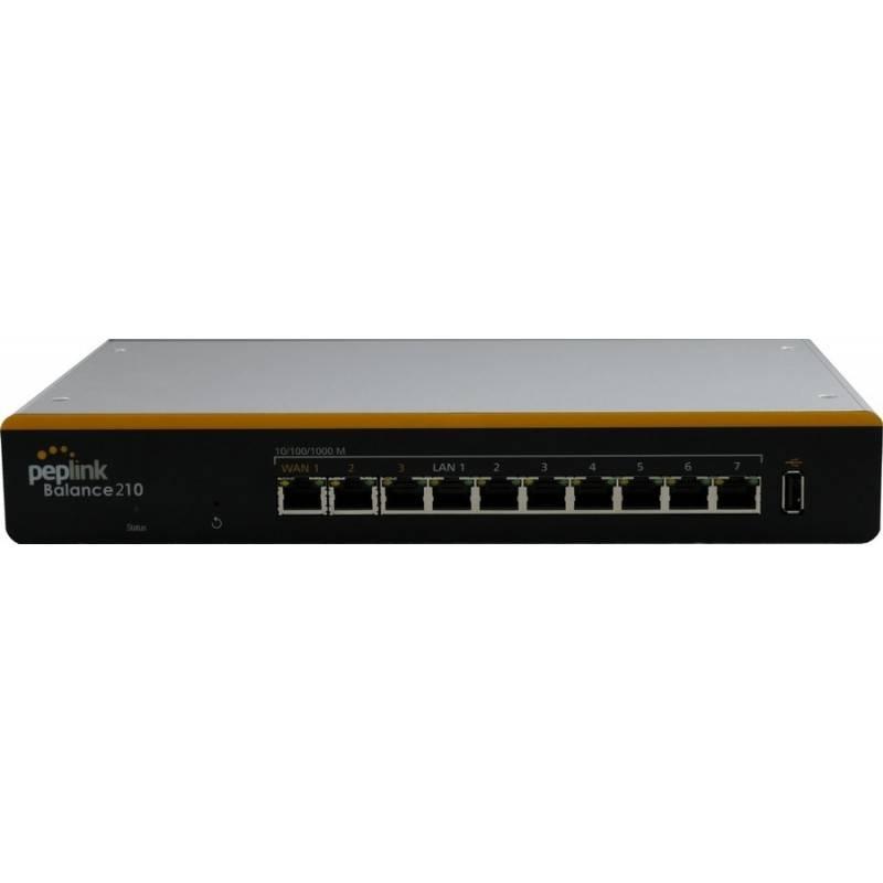 Peplink Balance 210 อุปกรณ์ Loadbalance 2 Wan 4 Lan Gigabit VPN 2 Tunnels รองรับ 3G Modem Peplink (เป๊ปลิ้งค์)
