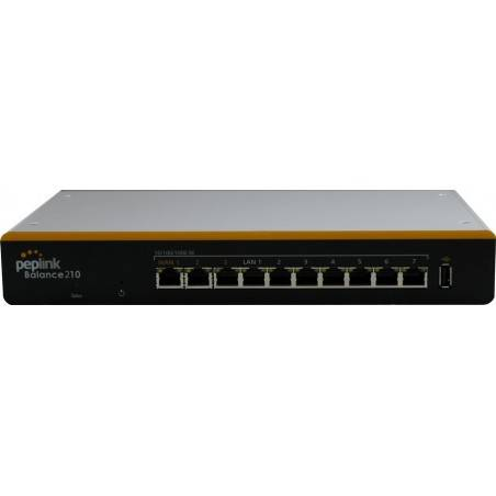 Peplink Balance 210 อุปกรณ์ Loadbalance 2 Wan 4 Lan Gigabit VPN 2 Tunnels รองรับ 3G Modem