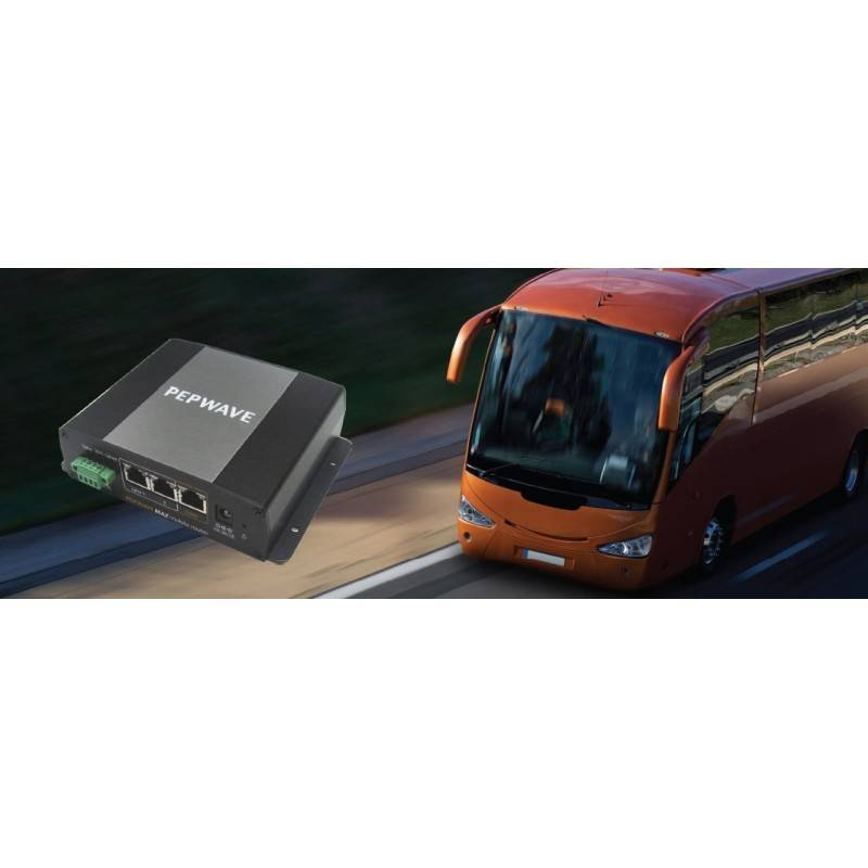 Peplink Peplink (เป๊ปลิ้งค์) Pepwave MAX BR1 อุปกรณ์ 3G/4G VPN Router พร้อม Sim Slot รองรับ GPS ระบุตำแหน่ง