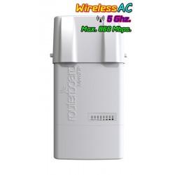 Mikrotik NetBox5 RB911G-5HPacD-NB AP 5GHz แบบ Dual Chain มาตรฐาน 802.11ac 866Mbps