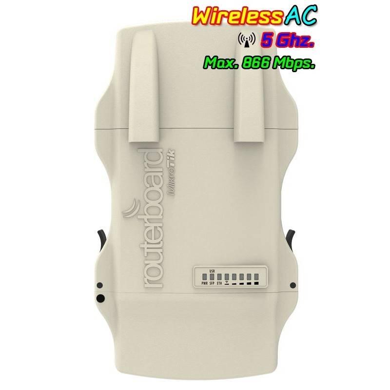 MikroTIK Mikrotik NetMetal5 RB921UAGS-5SHPacD-NM AP 5GHz แบบ Dual Chain 802.11ac 866Mbps เคสอลูมิเนียม