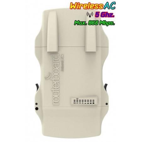 Mikrotik NetMetal5 RB921UAGS-5SHPacD-NM AP 5GHz แบบ Dual Chain 802.11ac 866Mbps เคสอลูมิเนียม