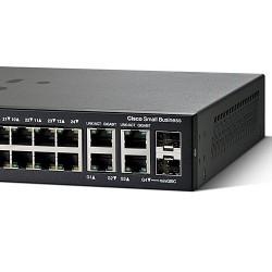 Cisco SF300-24 (SRW224) L3-Managed Switch 24 Port 10/100Mbps 4 Port Gigabit, 2-Port Mini-GBIC รองรับ Static Routing, VLANs Sw...
