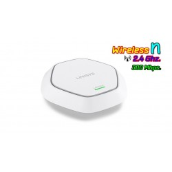 Linksys LAPN300 Access Point ความถี่ 2.4GHz ความเร็ว 300Mbps Port Gigabit รองรับ POE