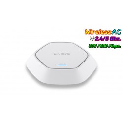 Linksys LAPAC1200 Access Point Dualband 2.4/5.0GHz มาตรฐาน 802.11ac ความเร็ว 900Mbps