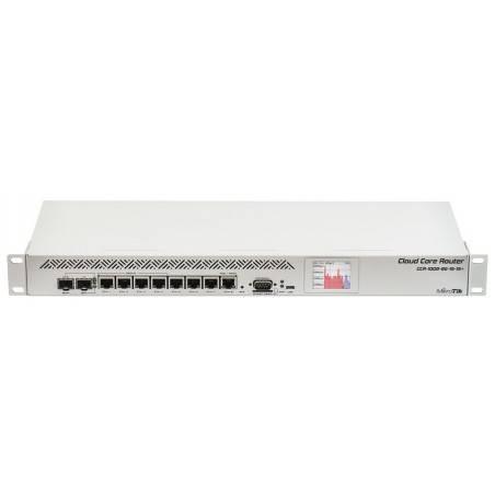 Mikrotik CCR1009-8G-1S-1S+ Cloud Core Router CPU 9-Core 1.2GHz Ram 2GB, 8 Port Giagbit 1 Port SFP ROS LV 6