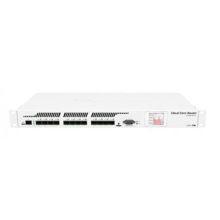 Mikrotik CCR1016-12S-1S+ Cloud Core Router ระดับ Top CPU 1.2GHz 36 Core Ram 4GB 12 Port SFP ROS LV6