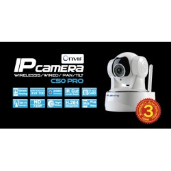 Plenty C50-Pro กล้อง Wireless IP Camera แบบไร้สาย รองรับ Pan/Tilt/Zoom ความละเอียด HD 720P พร้อม IR ราคาประหยัด